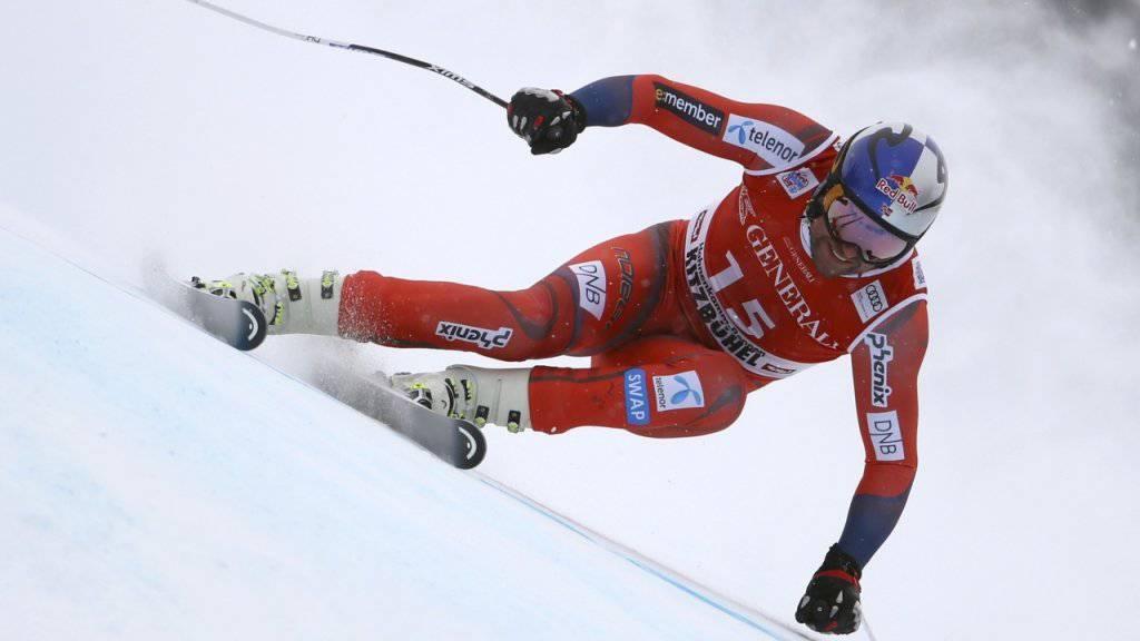Aksel Lund Svindal gewann den Super-G in Kitzbühel zum dritten Mal