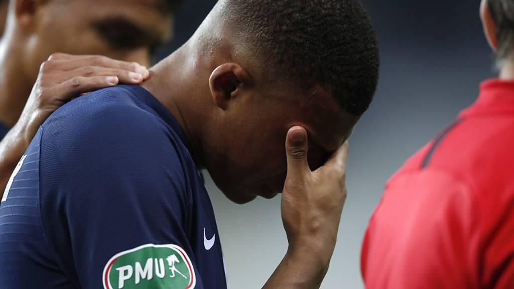 PSG-Stürmer Mbappé fällt wegen Verletzung rund drei Wochen aus