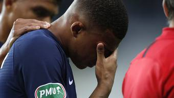 Kylian Mbappé wird wohl verletzungsbedingt gegen Atalanta Bergamo in der Champions League fehlen