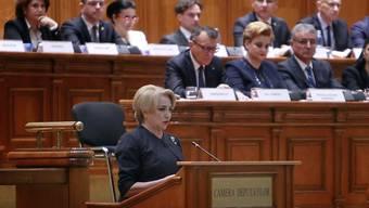 Dancilas Kabinett wurde mit einer satten Parlamentsmehrheit im Amt bestätigt.