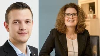 Brigitte Müller-Kaderli tritt ab. Silvio Fareri soll ihr Nachfolger werden.
