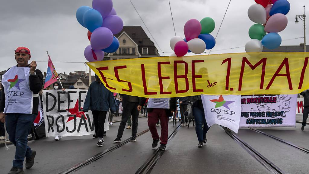 Basler Polizei tolerierte unbewilligte 1. Mai-Kundgebung