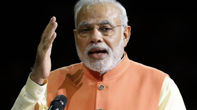 Indiens Premier Narendra Modi (Archiv)