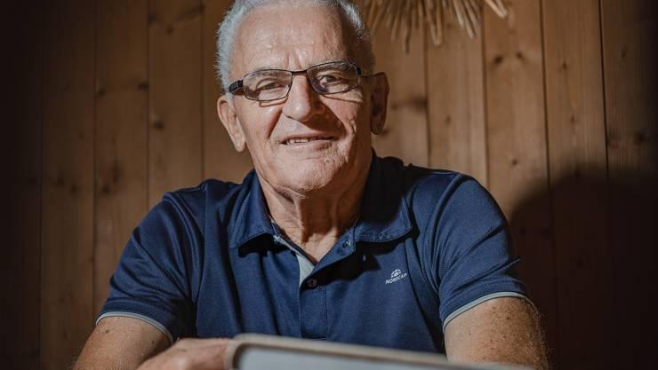 Heinrich Urech dokumentiert seit 2011 das Hallwiler Dorfleben.