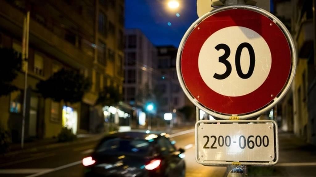 Borgula: «Würden lieber über Strassenabschnitte reden, die ganztags Tempo 30 sind.»