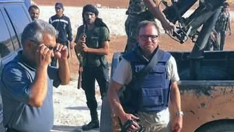 Kriegsberichterstatter Kurt Pelda kritisiert, dass in Europa die Bedrohung durch den IS in einem weltpolitischen Kontext unterschätzt werde.