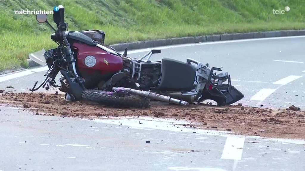 Toter nach Verkehrsunfall in Menzingen