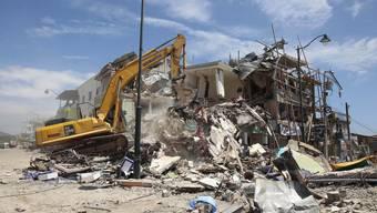 Erdbeben in Ecuador - ein Tag danach