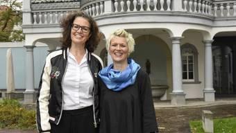 Ein Duo, das sich ergänzt: Graziella Contratto (links) und Barbara Betschart.