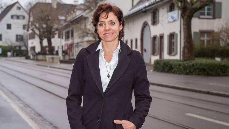 Die Riehener Gemeinderätin Christine Kaufmann kandidiert für den Regierungsrat.