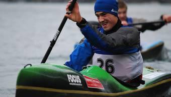 Junior Nico Meier zeigt eine gute Leistung.Quelle: Reto Schläppi
