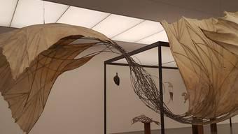 """Die Ausstellung """"Erica Pedretti. Fremd genug"""" im Bündner Kunstmuseum in Chur zeigt die Schriftstellerin als bildende Künstlerin."""