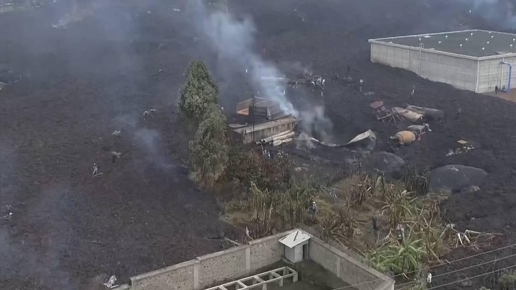 Noch keine Entwarnung nach Vulkanausbruch im Kongo