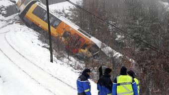 Tote und Verletzte: Zug in französischen Alpen entgleist