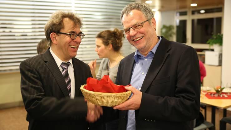 Thomas Holliger und Andre Rotzetter