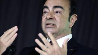 Gegen den in Untersuchungshaft sitzenden Ex-Verwaltungsratschef von Nissan, Carlos Ghosn, soll in Japan ein neuer Haftbefehl erlassen worden sein. (Archivbild)