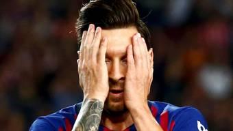 Rekord, aber keine echte Freude: Lionel Messi