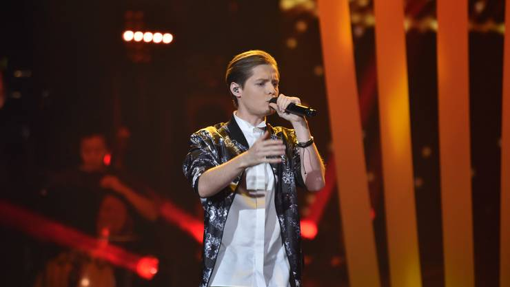Benjamin Dolic im Halbfinal von «The Voice of Germany»