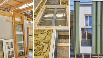Beispiele der Arbeit von in situ an den Projekten in Basel und Winterthur.