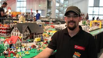 Nicolas Fessler aus Grenchen baut Lego-Landschaften