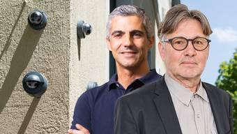 Gian von Planta (links) geht die Überwachungs-Möglichkeit zu weit. Hanspeter Thür findet sie der Coronakrise angemessen.