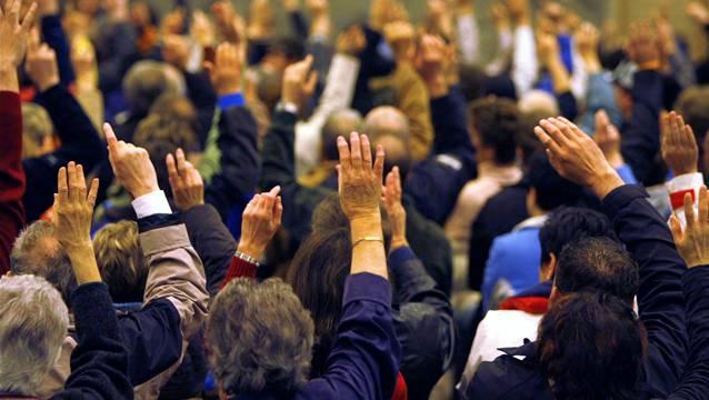 12 Gemeindeversammlungen im Wynental/Suhrental an einem Abend.