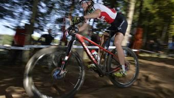 Mountainbikerin Katrin Leumann aus Riehen.