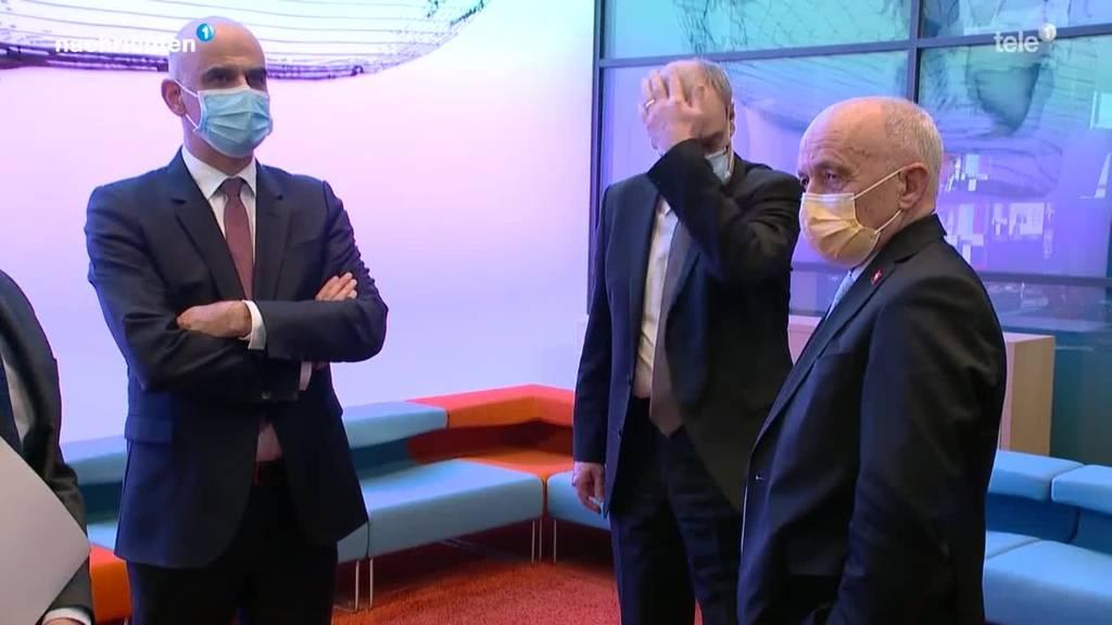Bundesrats-Kollegen nehmen Alain Berset in Schutz