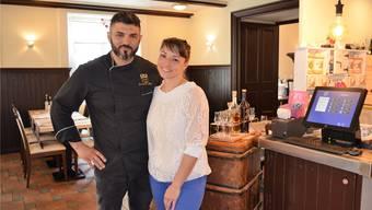 «Es ist schön, wenn man etwas macht, das ankommt», freuen sich Fabio Caffè und Daniela Mastronardi in ihrem Restaurant Il melograno.