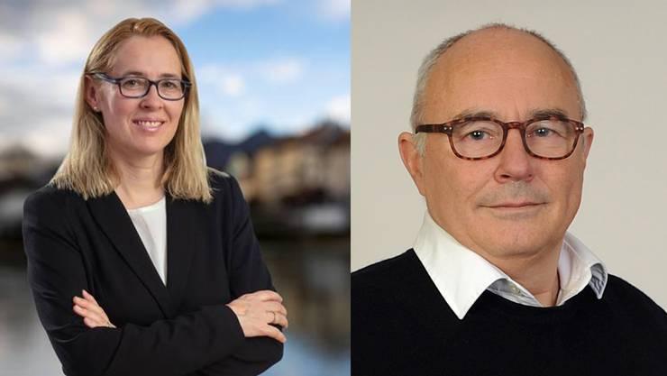 Andrea Büttiker-Gysin und Markus Meyer