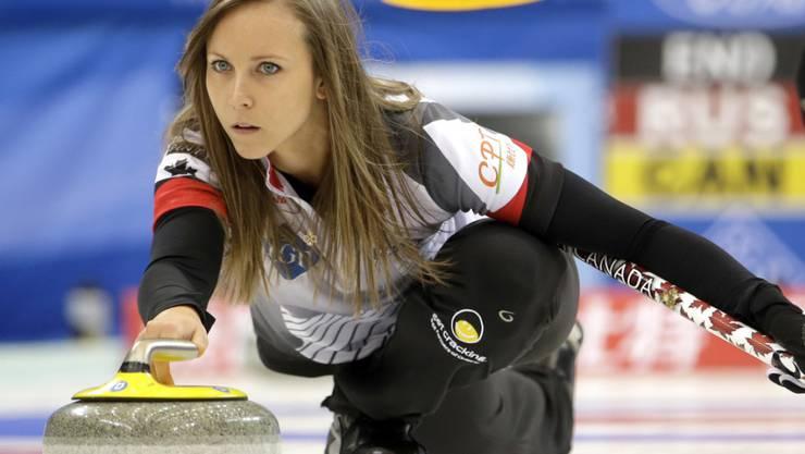 Rachel Homan aus Ottawa ist die derzeit beste Curlerin
