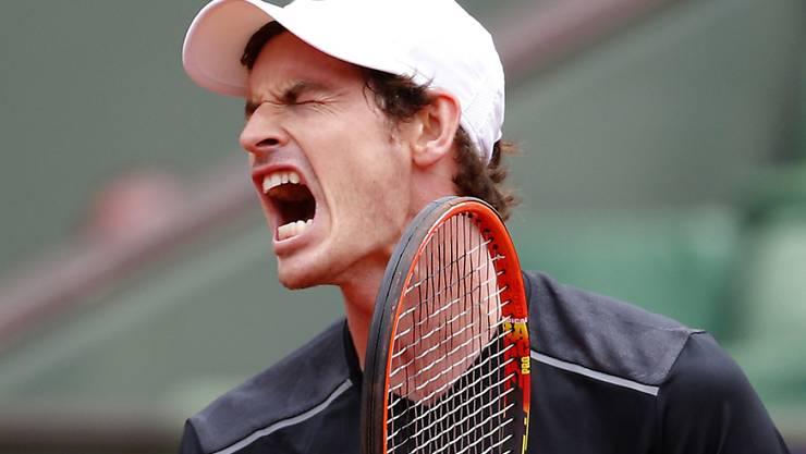 Andy Murray siegte mit viel Mühe