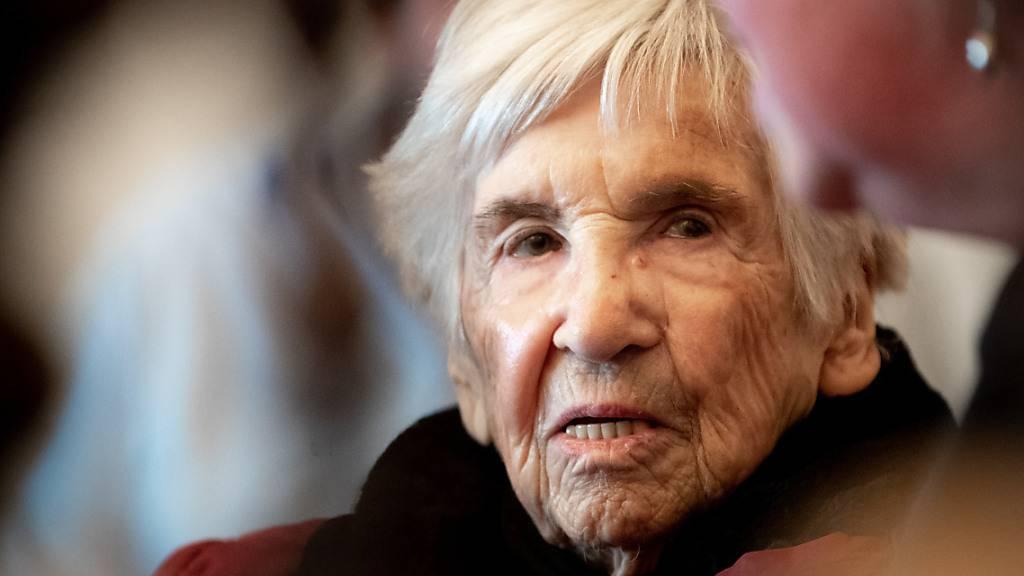 KZ-Überlebende Esther Bejarano im Alter von 96 Jahren gestorben
