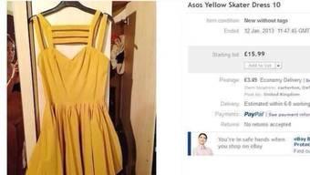 Bei Fotos auf Ebay ist Vorsicht geboten