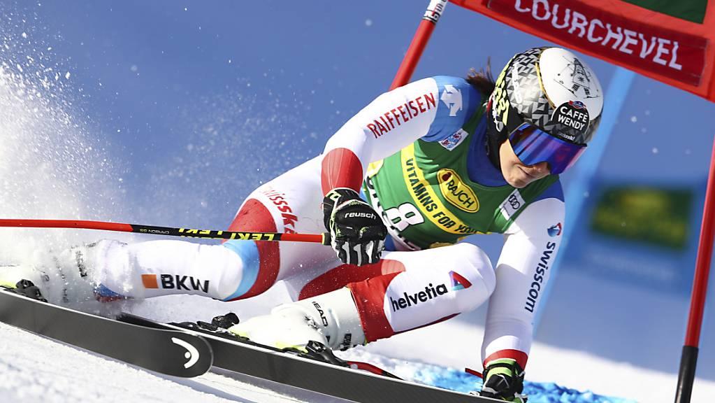 Wendy Holdener geht in Val d'Isère nicht an den Start