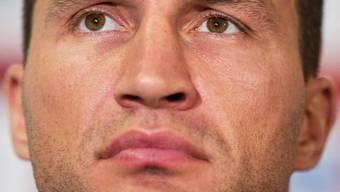 Er sieht zwar böse aus, ist aber in Liebesdingen ein Romantiker: Boxer Wladimir Klitschko (Archiv)