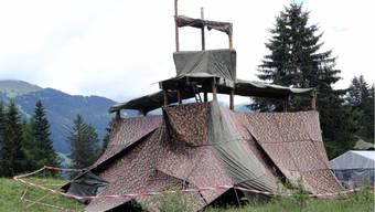 Plattform eingestürzt in Jungwacht-Lager: 7 Schüler verletzt