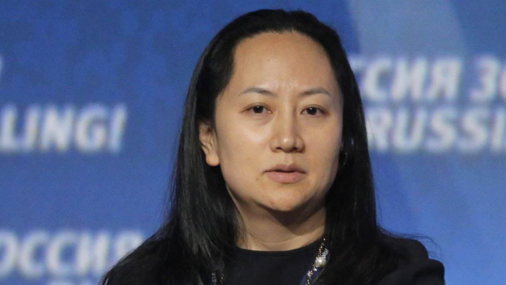 Will ihre beiden Häuser in Vancouver als Kaution hinterlegen: die verhaftete Huawei-Finanzchefin Meng Wanzhou. (Archivbild)