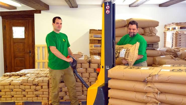 Für Lukas Tschudi (links) und Adolf Tschudi steht Qualität an oberster Stelle.