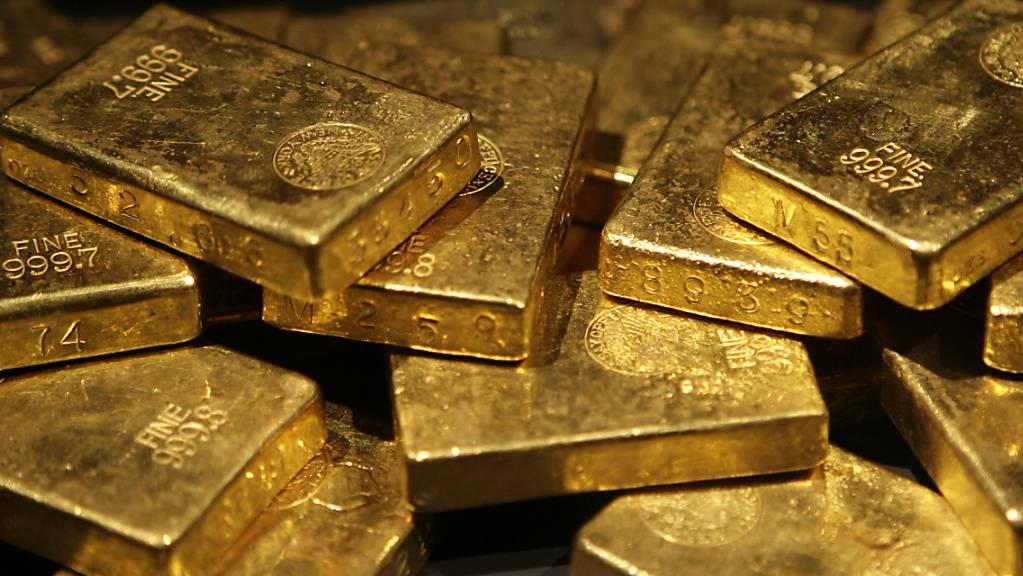 Goldpreis fällt unter 1800 US-Dollar. (Archiv)