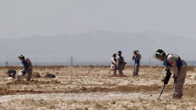 Minensucher in Afghanistan im Einsatz (Archiv)