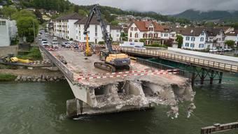 Abriss Kettenbrücke