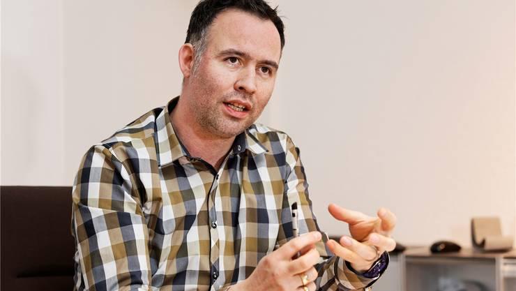 Patrik Westermann, Geschäftsführer des Möbelhauses Strebel AG: «Die grossen Herausforderungen in der Möbelbranche und ein Geschäftsprojekt verlangen meine ganze Kraft»