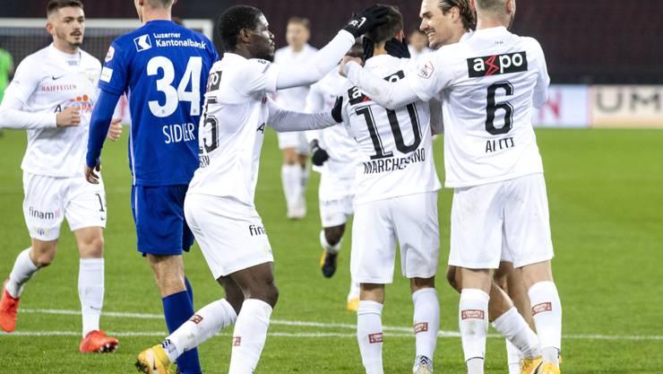 Der FC Zürich hat wieder allen Grund zur Freude