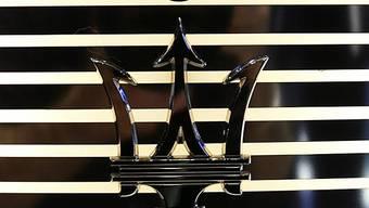 Das Logo von Maserati symbolisiert Luxus (Archiv)