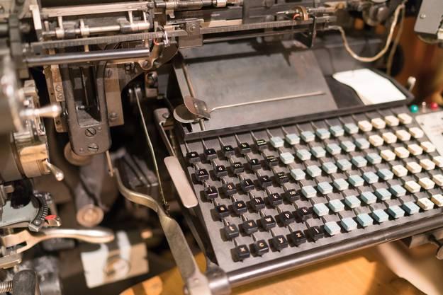 Im Museum gibt es Maschinen aus aller Welt und aus verschiedenen Epochen.