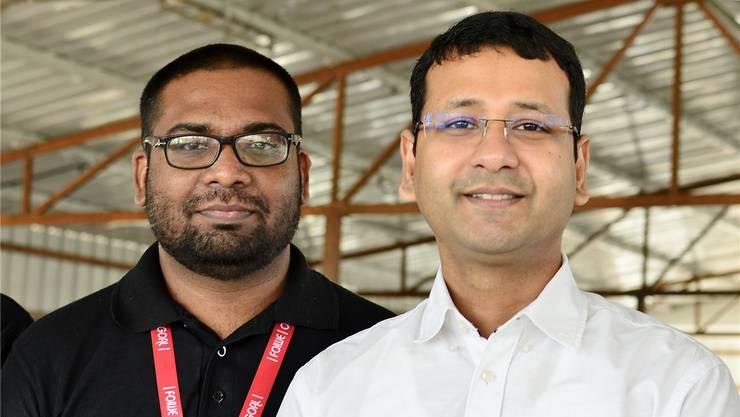 Subramani Subbu und Suman Howladder: Wächter an den Online-Abgründen.