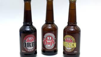 11 Bilder aus der Öufi-Brauerei in Solothurn