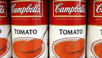 Campbell-Suppen in Konservendosen