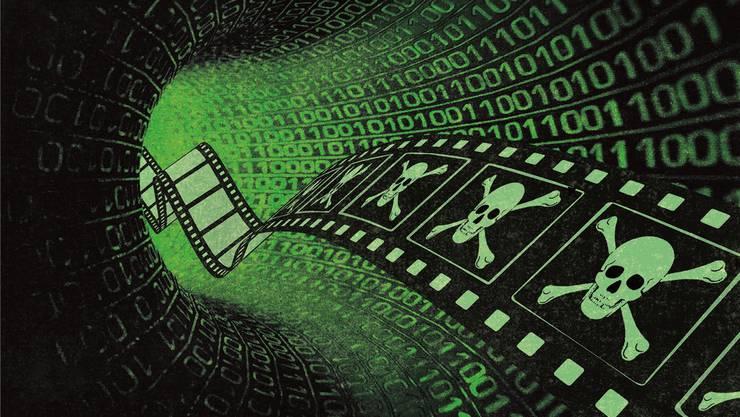 Im Internet tummeln sich dutzende Streaming-Plattformen, die illegale Raubkopien von Filmen und Serien anbieten.